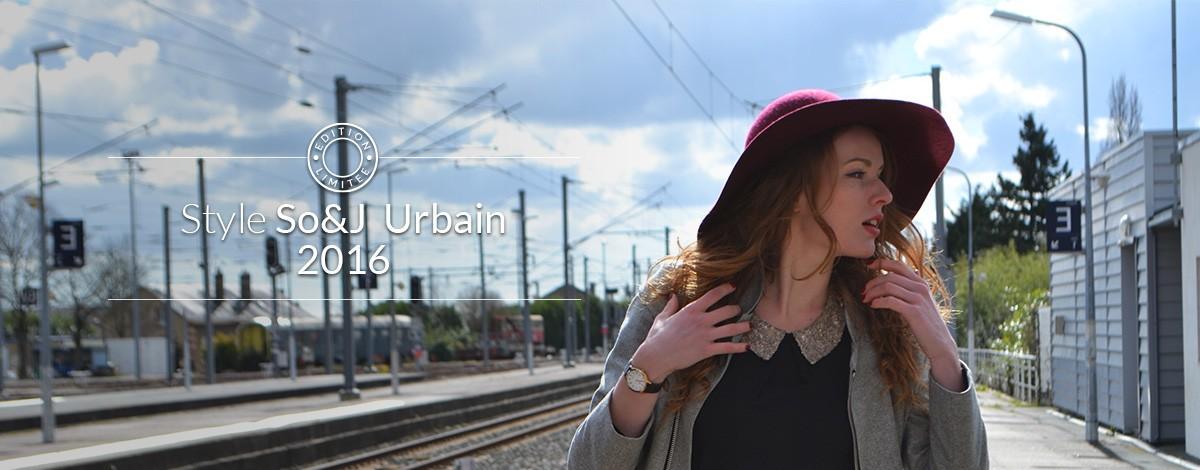 Style SoandJ urbaine et branchée